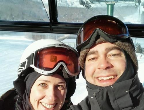 Lately Around Here: Snow + Ski