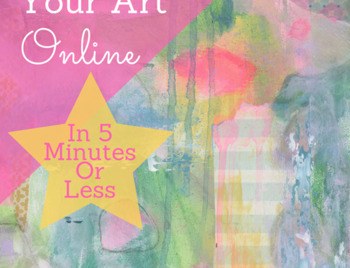 4 Easy Ways To Display Your Art Online (In 5 Minutes Or Less)