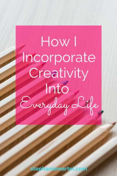Click through to learn how I keep my creative energy flowing each day. Maybe these will help your creative mojo , too!