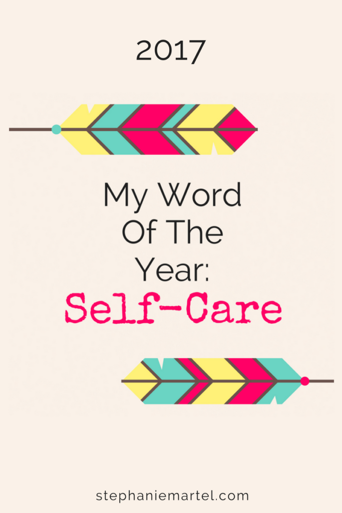 Click through to see how I'm making my word of the year work for me.