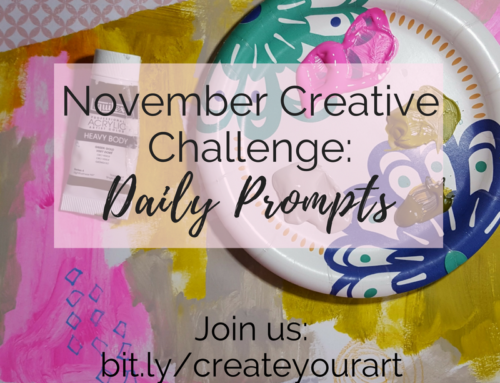 Two Weeks of Fun: Join The November Creative Challenge